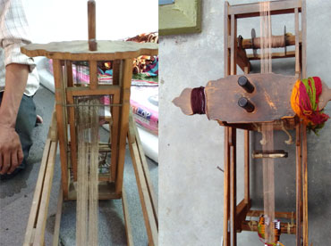 Portable Wooden Handloom | National Innovation Foundation-India