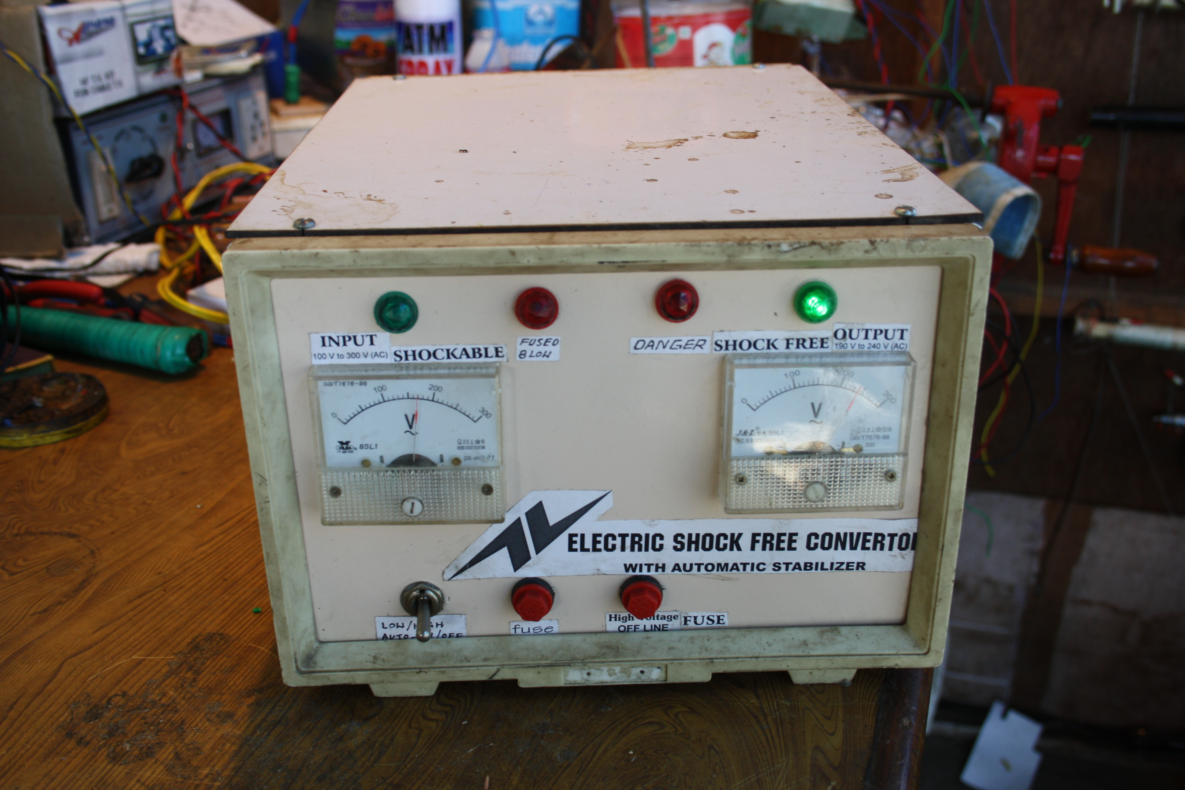 Electric shock proof converter   National Innovation Foundation-India